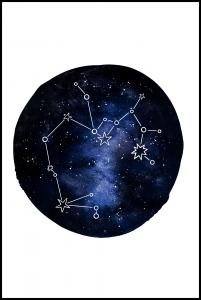 Bildverkstad Sagittarius Poster