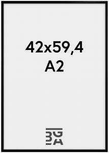 BGA Nordic New Lifestyle Schwarz 42x59,4 cm (A2)