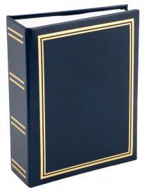 Exclusive Line Minimax Album Blau - 100 Bilder 10x15 cm