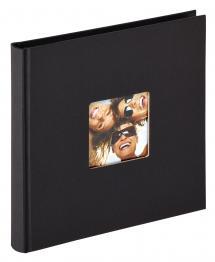 BGA Nordic Fun Album Schwarz - 18x18 cm (30 schwarze Seiten / 15 Blatt)