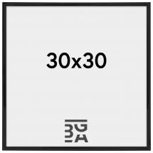 Walther Rahmen New Lifestyle Acrylglas Schwarz 30x30 cm