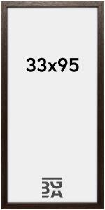 Galleri 1 Brown Wood 33x95 cm