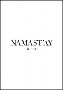Bildverkstad namast'ay in bed Poster
