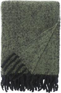 Svanefors Plaid Kim - Grün 130x170 cm