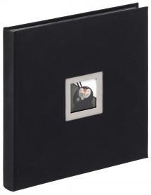Walther Black & White Album Schwarz - 30x30 cm (50 schwarze Seiten / 25 Blatt)