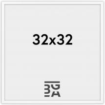 Galleri 1 Edsbyn Weiß 32x32 cm