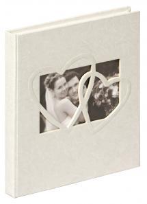 Walther Sweet Heart Gästebuch - 23x25 cm (144 weiße Seiten / 72 Blatt)