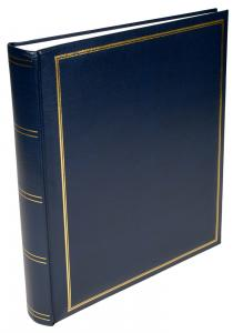 BGA Nordic Exclusive Line Maxi Album Blau 30x33 cm (100 weiße Seiten / 50 Blatt)
