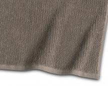 Borganäs of Sweden Handtuch Stripe Frottee - Braun 50x70 cm
