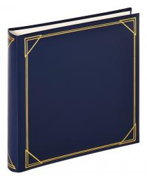 Walther Kvadrat Blau - 30x30 cm (100 weiße Seiten / 50 Blatt)