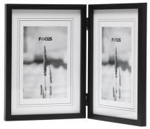 Focus Rock Schwarz Aufklappbarer Bilderrahmen 13x18 cm