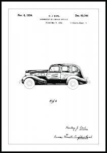 Bildverkstad Patentzeichnung - La Salle III Poster
