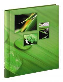 Difox Singo Album selbstklebend Grün (20 weiße Seiten / 10 Blatt)