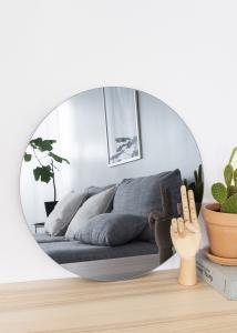 KAILA KAILA Runder Spiegel Smoked Grey 50 cm Ø