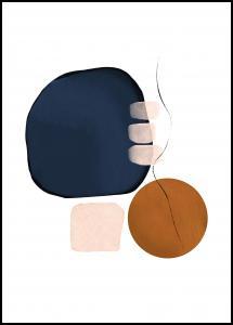 Bildverkstad Abstract Shapes III Poster