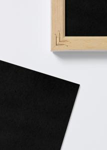 Ramverkstad Säurefreies Einlageblatt Schwarz - 35x50 cm
