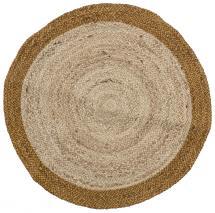 Bloomingville Runder Teppich Birk - Jute 90 cm Ø