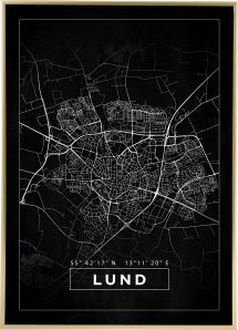 Bildverkstad Map - Lund - Black