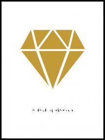 Bildverkstad Diamant - Gold