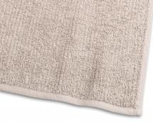 Borganäs of Sweden Badetuch Stripe Frottee - Sand 65x130 cm