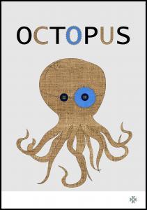 Bildverkstad Fabric octopus