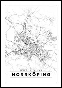 Bildverkstad Map - Norrköping - White
