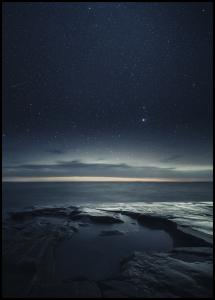 Bildverkstad Night at the sea