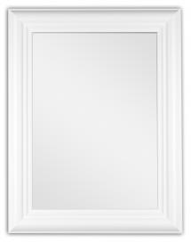 Spegelverkstad Spiegel Siljan Weiß - Maßgefertigt