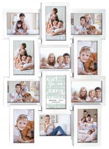 ZEP Multiple frame white Collage-Rahmen - 12 Bilder