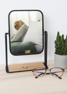Hübsch Tischspiegel Foot Schwarz