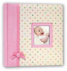 ZEP Kara Album Rosa - 24x24 cm (40 weiße Seiten / 20 Blatt)