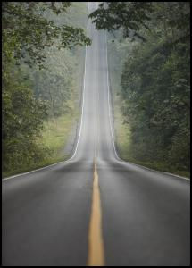 Bildverkstad Lonely Road Poster