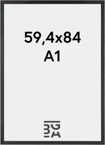 Galleri 1 Rahmen Black Wood 59,4x84 cm (A1)