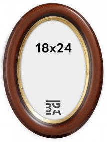 Bubola e Naibo Molly Oval Braun 18x24 cm