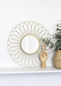 KAILA KAILA Spiegel Flower - Gold 50 cm Ø