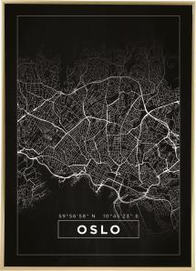 Bildverkstad Map - Oslo - Black