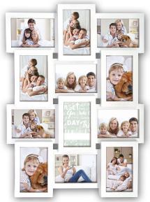ZEP Maggiore Collage-Rahmen X Weiß - 12 Bilder