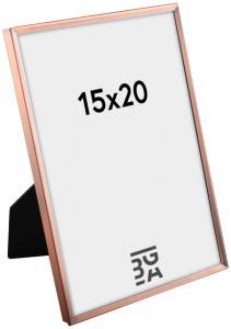 Estancia Slät Metall Kupfer 15x20 cm