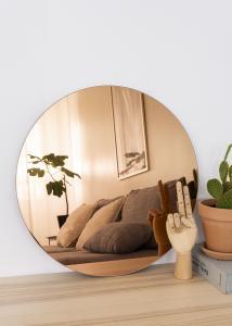 KAILA KAILA Runder Spiegel Rose Gold 50 cm Ø