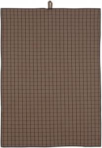 Fondaco Geschirrtuch Ture - Chocolate 50x70 cm
