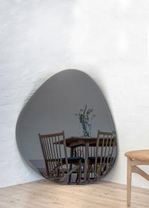 Incado Spiegel Shape Big Warm Grey 95x110 cm
