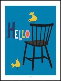 Bildverkstad Chair - Blue