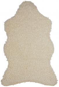 Fondaco Kunstfell Ludde - Offwhite 60x110 cm