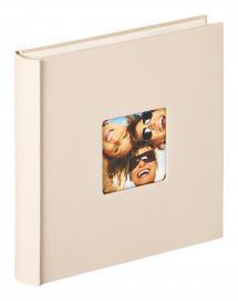 Walther Fun Album Sand - 30x30 cm (100 weiße Seiten / 50 Blatt)