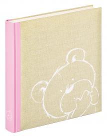 Walther Dreamtime Kinderalbum Rosa - 28x30,5 cm (50 weiße Seiten / 25 Blatt)