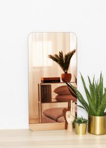 KAILA KAILA Spiegel Rectangle Rose Gold 40x80 cm