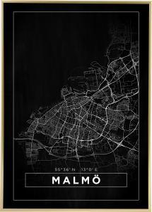 Bildverkstad Map - Malmö - Black