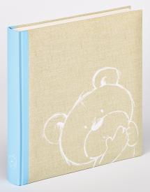 Walther Dreamtime Kinderalbum Blau - 28x30,5 cm (50 weiße Seiten / 25 Blatt)