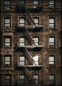 Lagervaror egen produktion New York Fire Escape