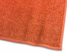 Borganäs of Sweden Gästehandtuch Stripe Frottee - Orange 30x50 cm